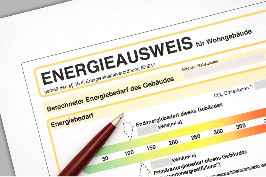 Energieausweis gesetz deutschland